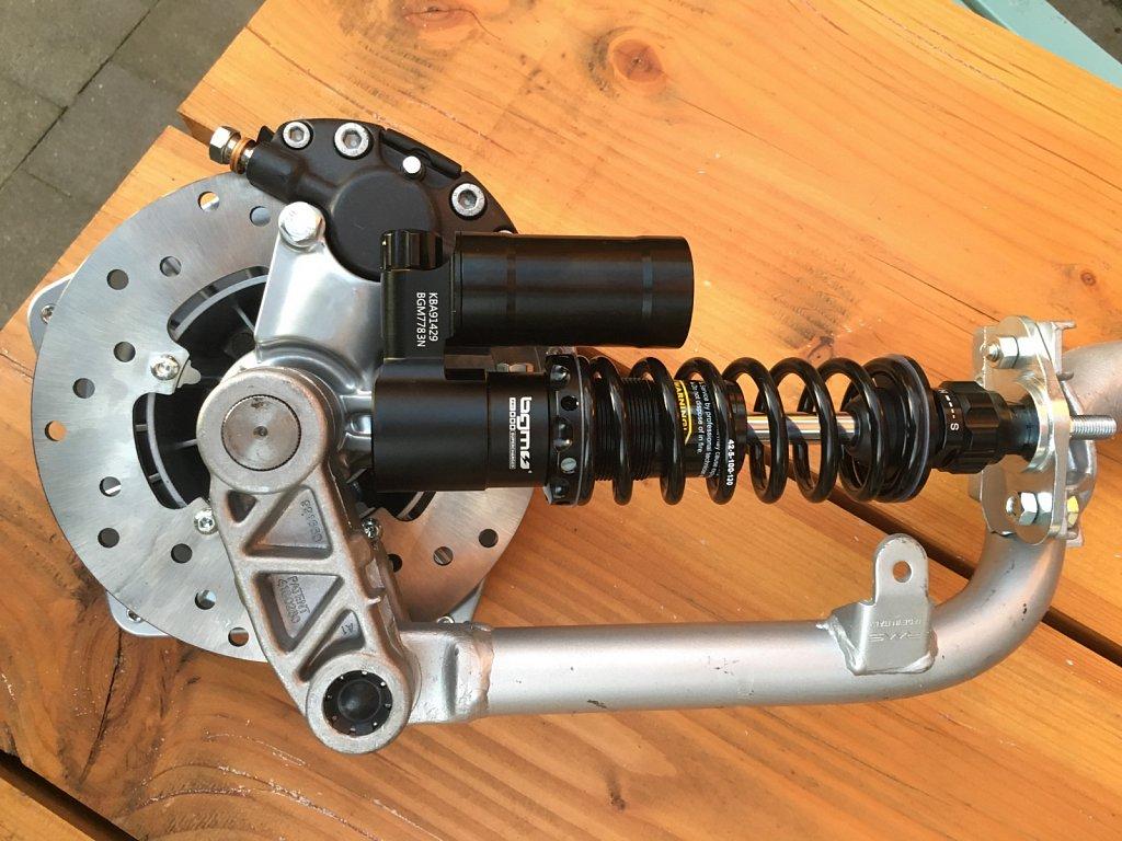 Sprint Front Fork Disc Brake Conversion